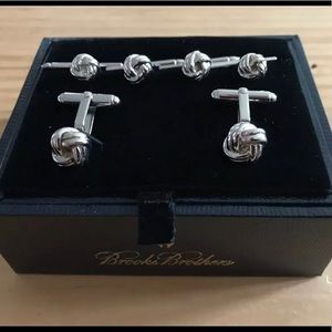 Brooks brothers sterling silver cuff links NEW